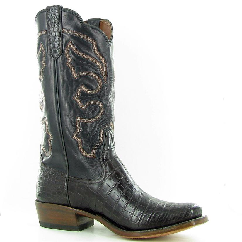 Rios Of Mercedes Chocolate Crocodile Cowboy Boots