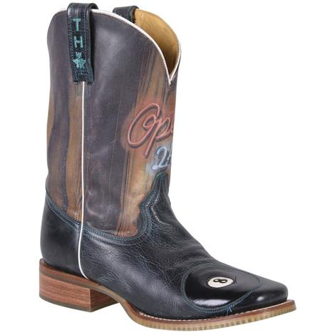 Tin Haul Mens Pool Hall Cowboy Boots
