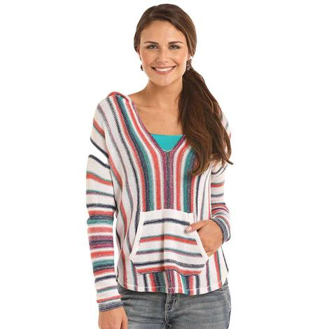 Rock & Roll Cowgirl Womens Lightweight Boho Knitted Sweater