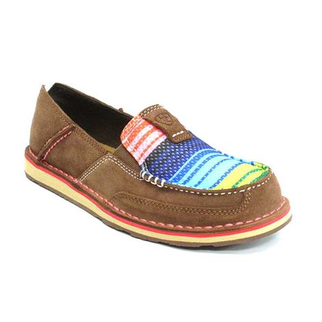 Ariat Womens Palm Brown Serape Cruiser