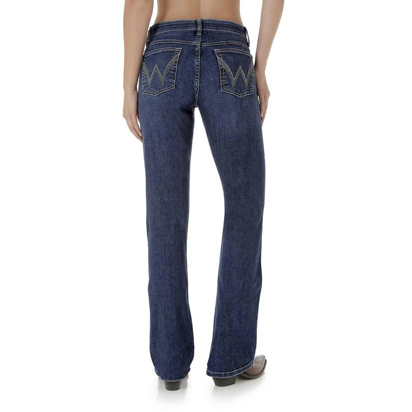 07e096aa Wrangler Womens Q- Baby Rise Ultimate Riding Jeans