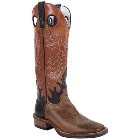 Olathe Mens Tan Pit Bull Western Boots