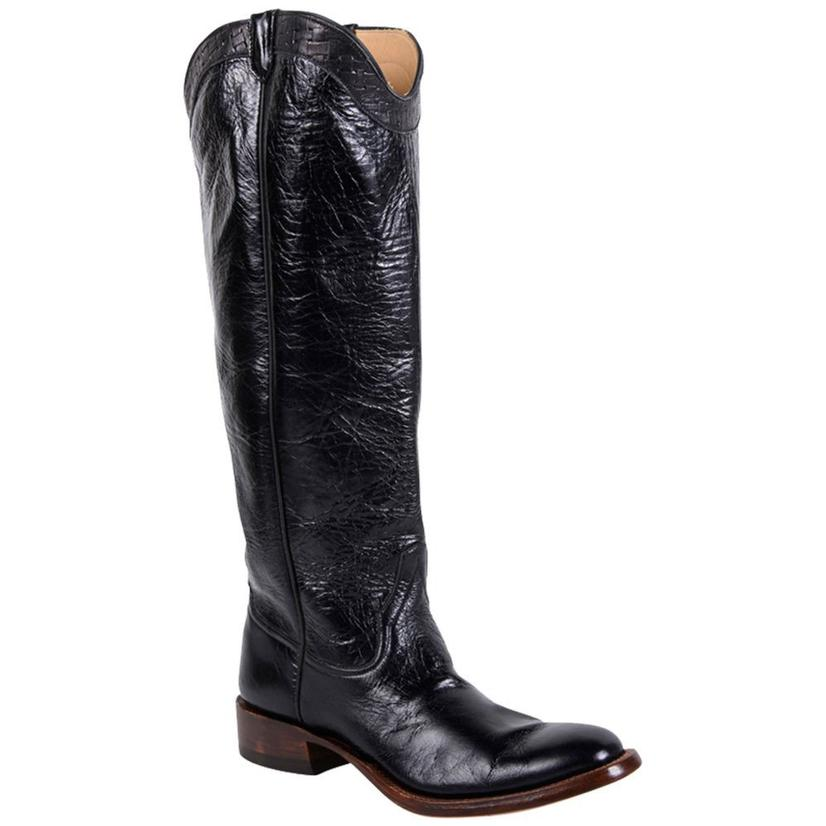 Rios Of Mercedes Womens Lovin Black Western Boots