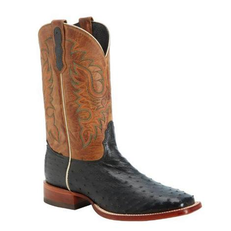 Nocona Mens Full Quill Ostrich Boots