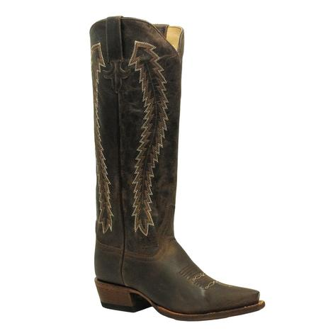 Macie Bean Womens Annie Get Your Fun Tan Boot