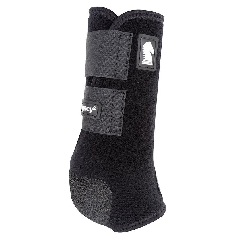 Classic Equine Legacy2 Front Protective Sport Boots BLACK