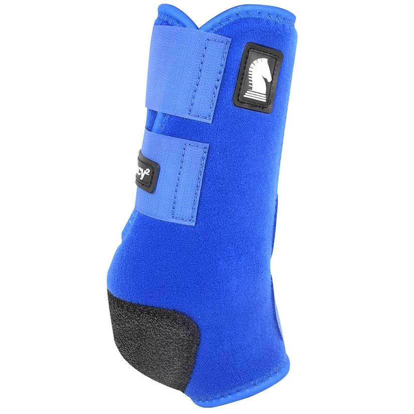 Classic Equine Legacy2 Front Protective Sport Boots BLUE