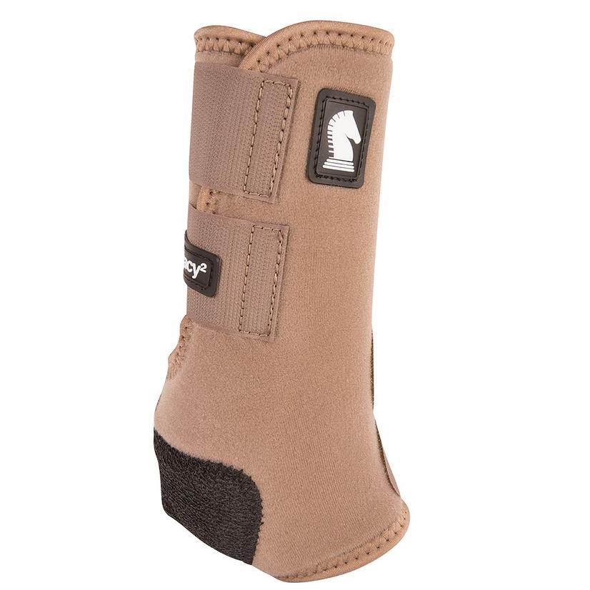 Classic Equine Legacy2 Front Protective Sport Boots CARIBOU