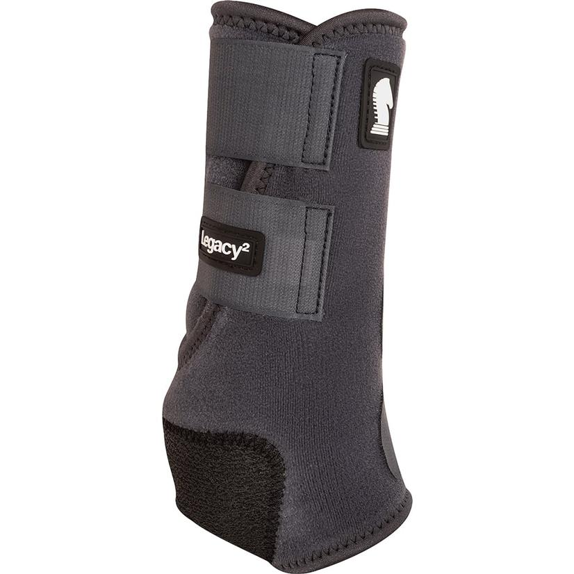 Classic Equine Legacy2 Front Protective Sport Boots CHARCOAL