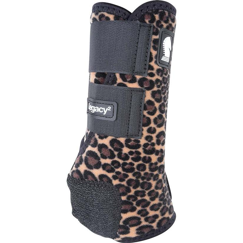Classic Equine Legacy2 Front Protective Sport Boots CHEETAH