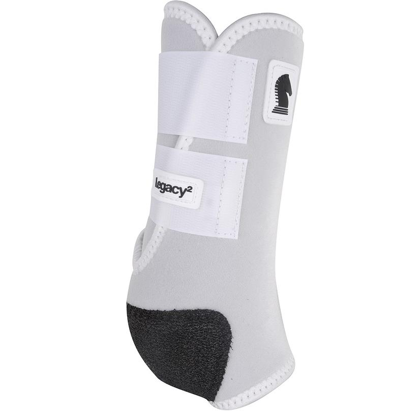 Classic Equine Legacy2 Front Protective Sport Boots WHITE