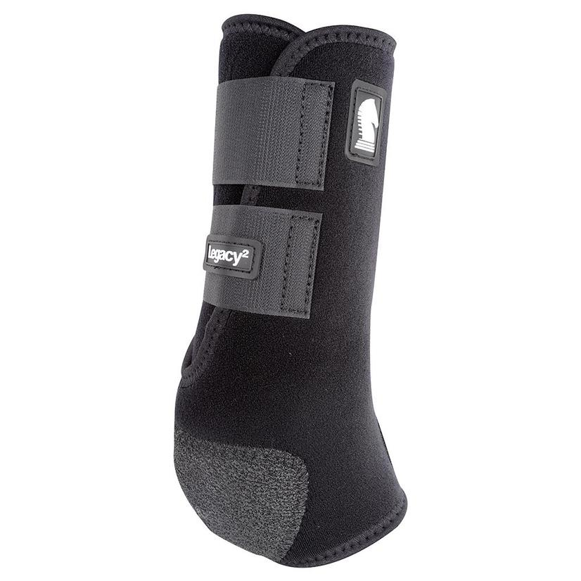 Classic Equine Legacy2 Horse Hind Protective Sport Boots BLACK