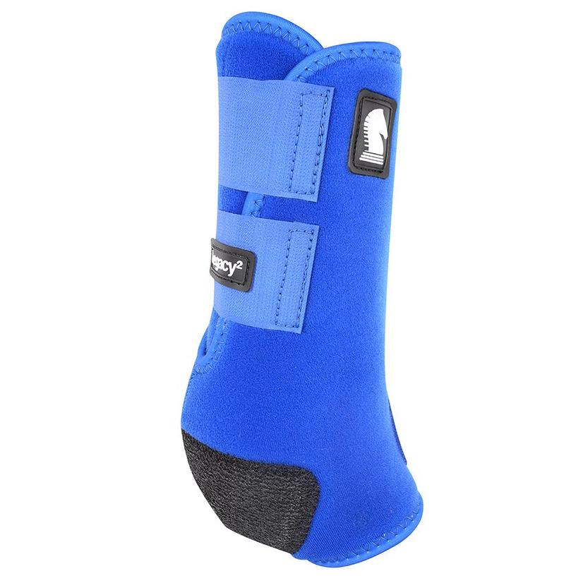 Classic Equine Legacy2 Horse Hind Protective Sport Boots BLUE