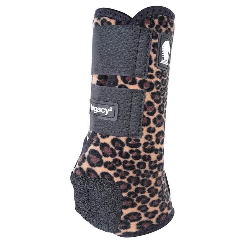 Classic Equine Legacy2 Horse Hind Protective Sport Boots CHEETAH