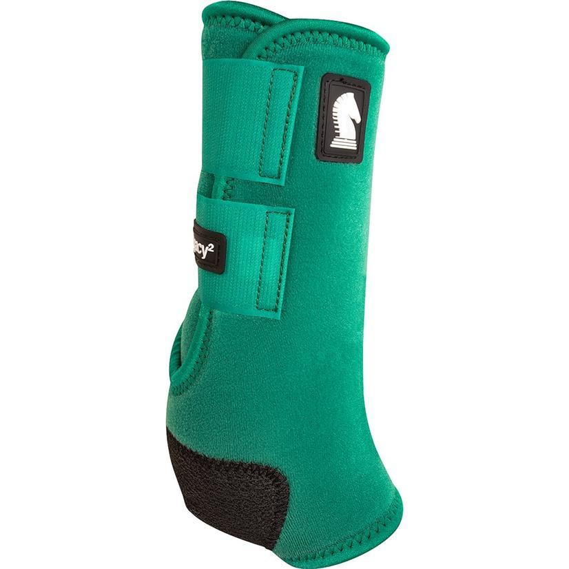 Classic Equine Legacy2 Horse Hind Protective Sport Boots EMERALD