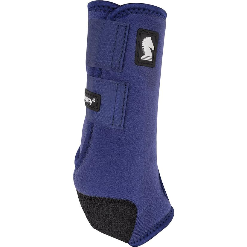 Classic Equine Legacy2 Horse Hind Protective Sport Boots NAVY