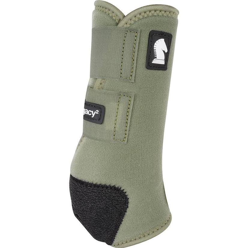 Classic Equine Legacy2 Horse Hind Protective Sport Boots OLIVE