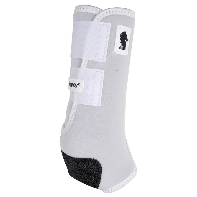 Classic Equine Legacy2 Horse Hind Protective Sport Boots WHITE