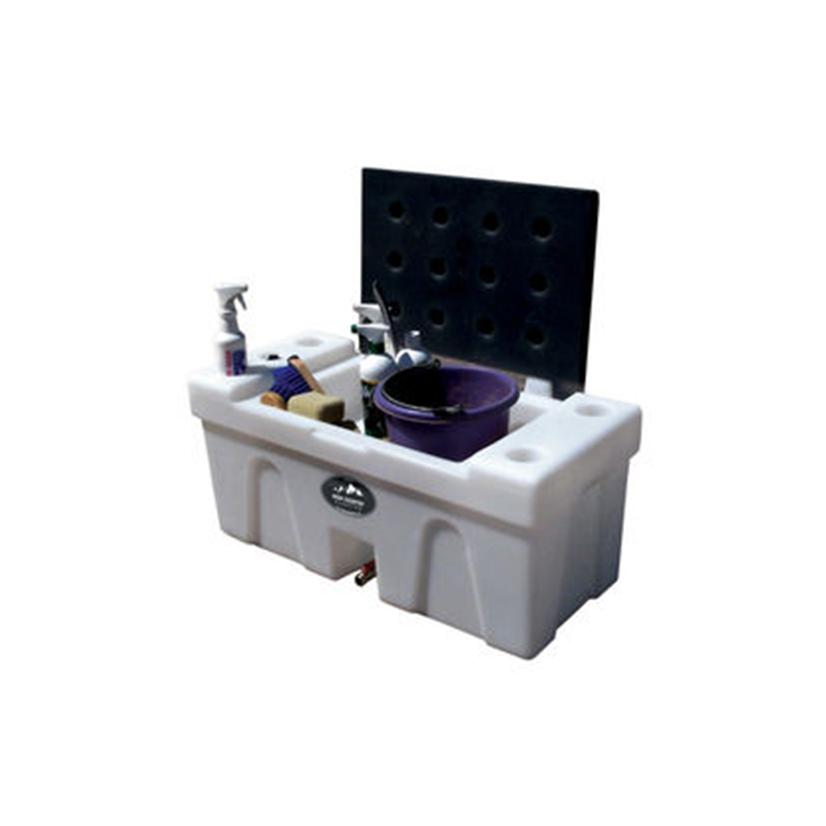 High Country Plastics Bench Water Caddy 25 Gallon
