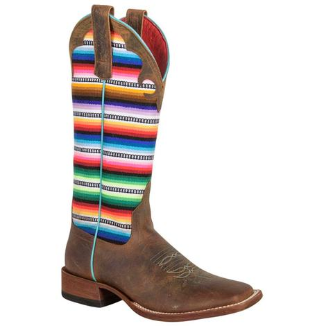 Macie Bean Womens Leftys Pancho Boots