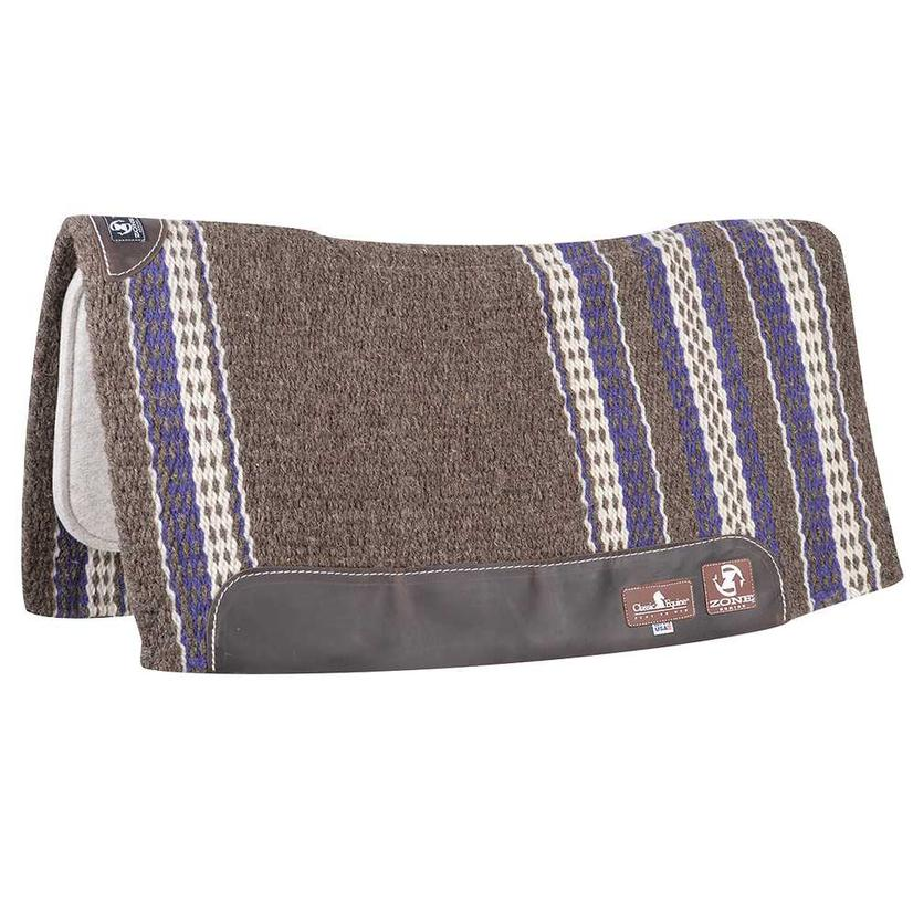 Classic Equine ZONE Wool Top Saddle Pad 32
