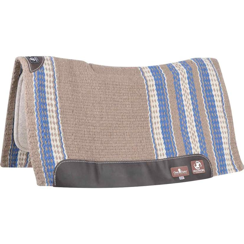 Classic Equine ZONE Wool Top Saddle Pad 34
