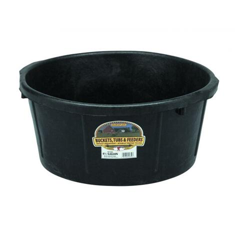 Little Giant Rubber Feed Pan 6.5 Gallon