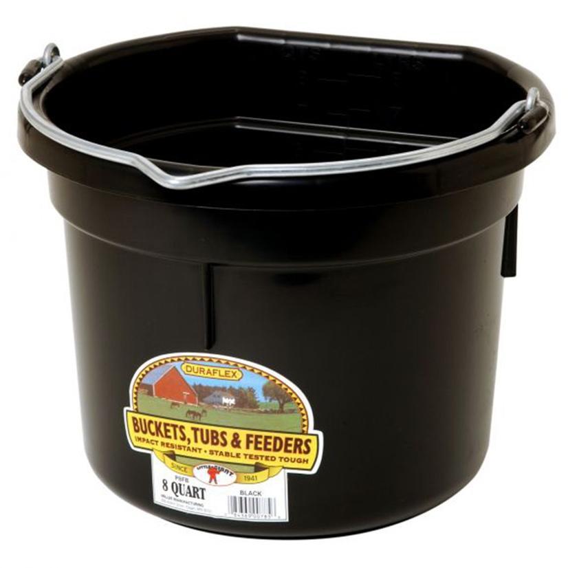 Little Giant Flat Back Bucket 8 Quart