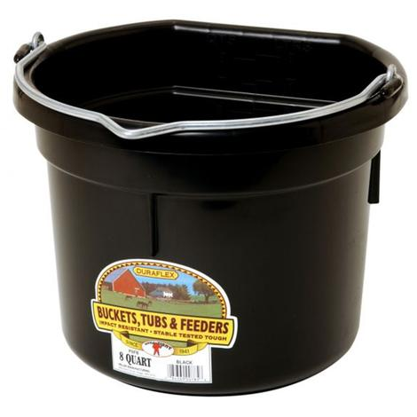 Little Giant Flat Back Bucket 8 Quart