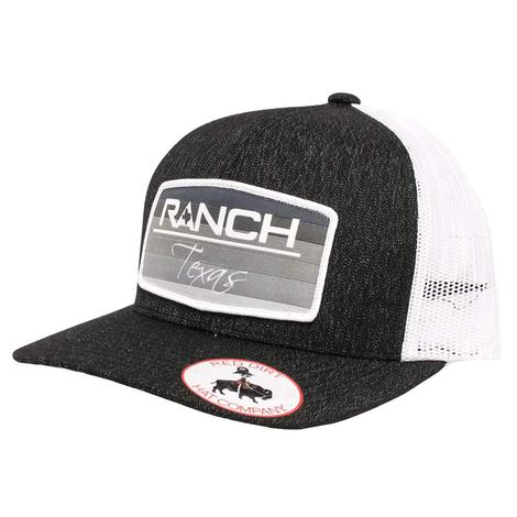 Red Dirt Hat Co Ranch Texas Black Cap