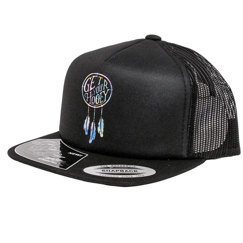 Hooey Dreamcatcher Black Youth Mesh Cap