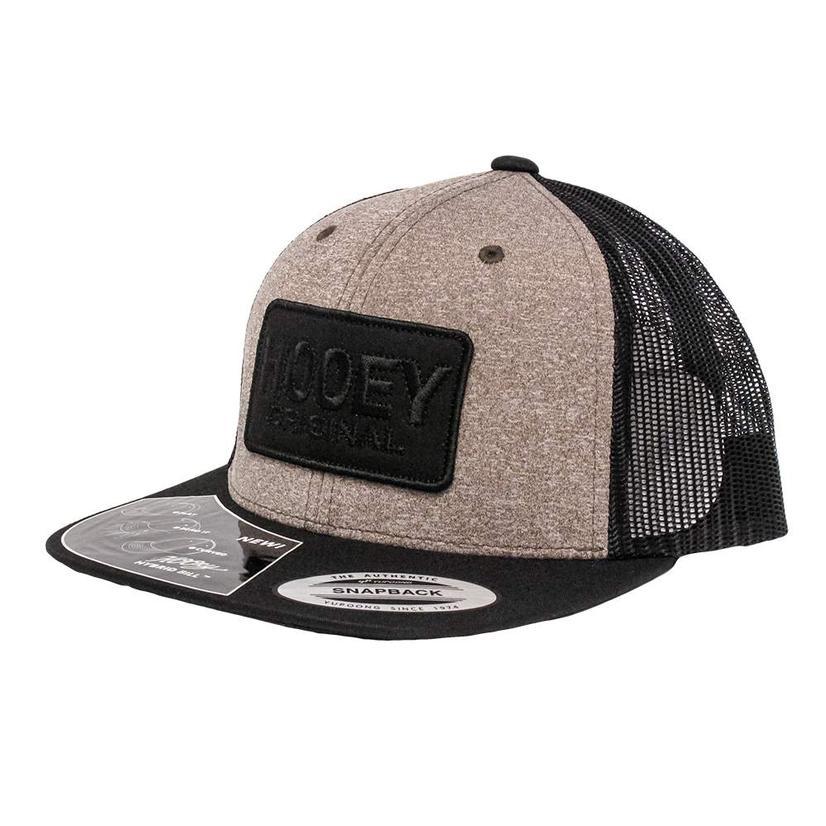 Hooey Original Black & Tan Mesh Cap
