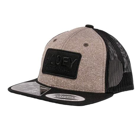 Hooey Original Black & Tan Mesh Youth Cap