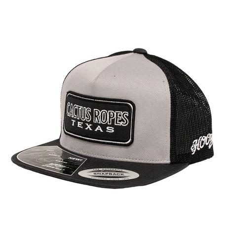 Cactus Ropes Black & Grey Mesh Back Cap