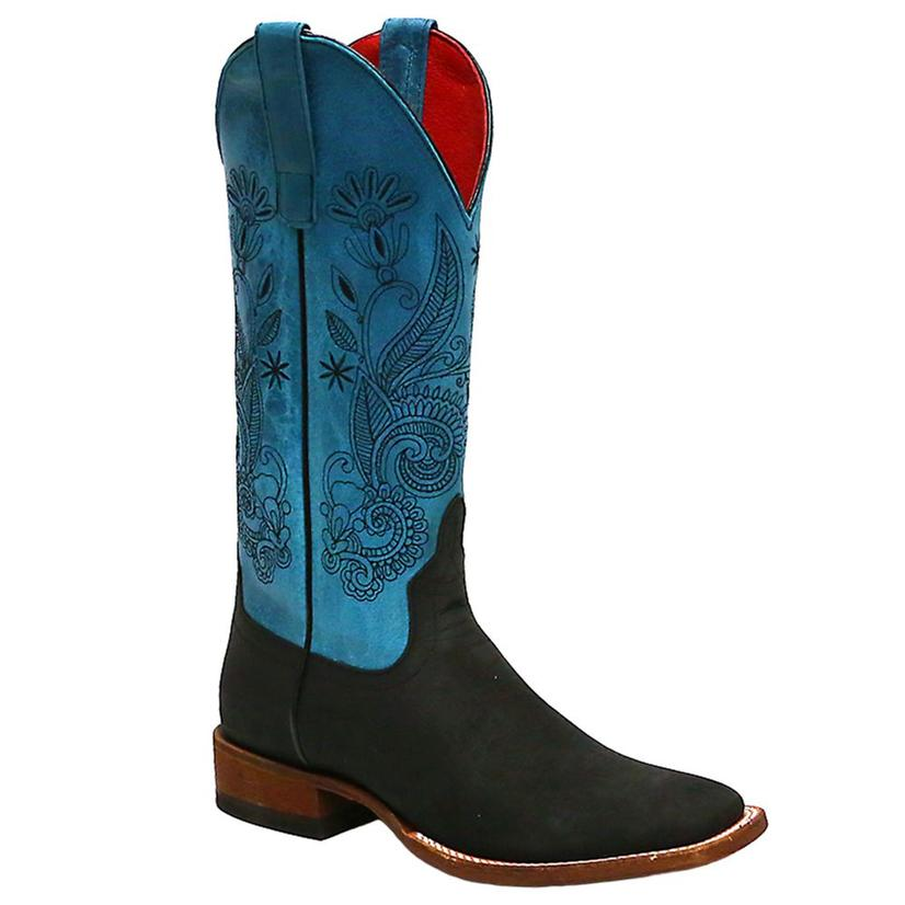 Macie Bean Womens Livin Up To The Hyp- Po Western Boots