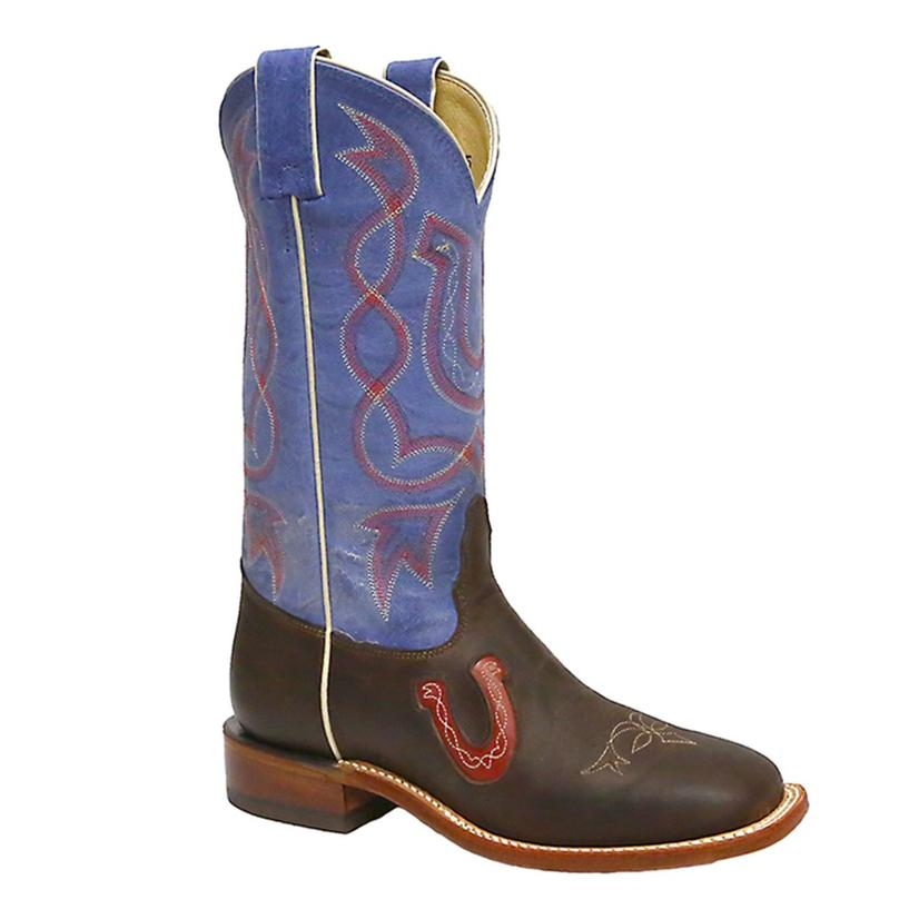 Tony Lama Womens San Saba Horseshoe Western Boots