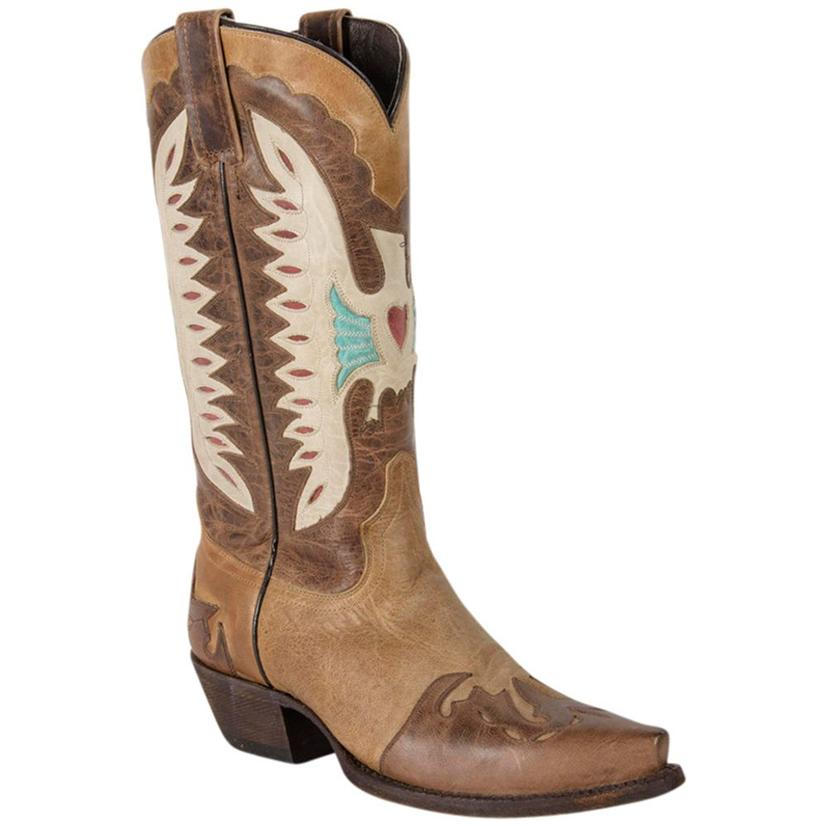Caborca Womens Bovine Leather Western Boots