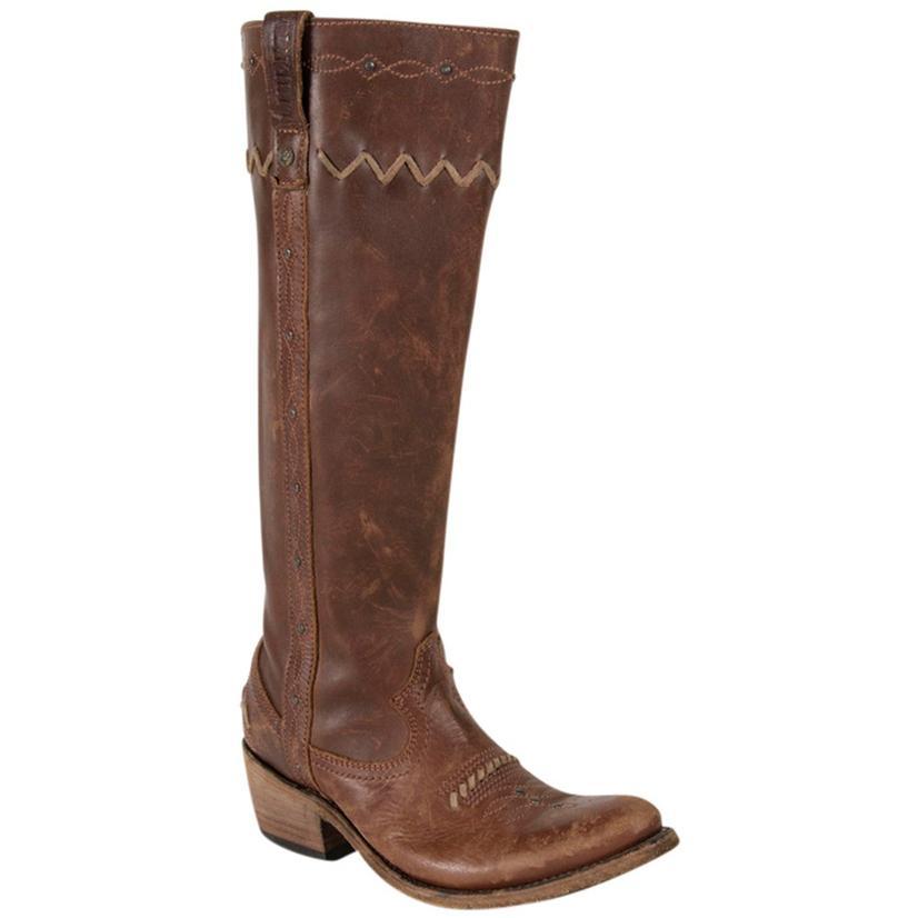 Liberty Black Womens Toscano T- Moro Western Boots