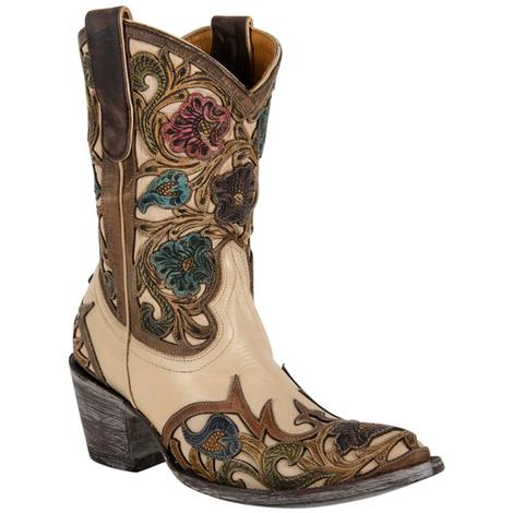 Old Gringo Womens Abelina Honey Cowhide Western Boots