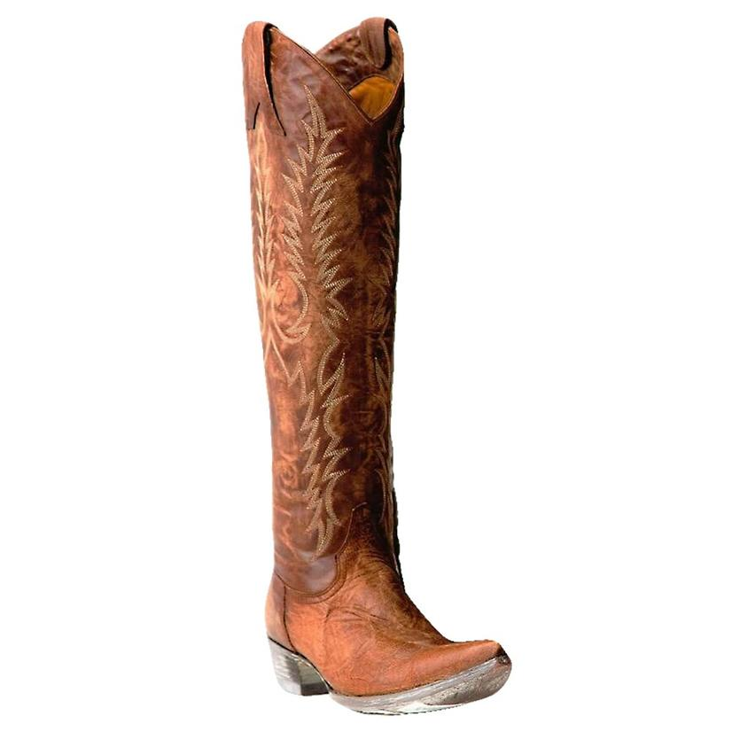 Old Gringo Womens Mayra Brown Tall Top Western Boots
