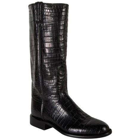 Lucchese Classics Womens Croc Belly Western Boots