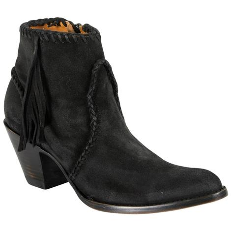 Old Gringo Womens Adela Black Suede Boots