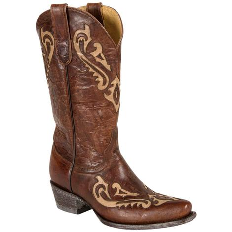 Old Gringo Womens Korina Chocolate Bone Western Boots