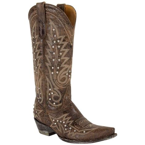 Old Gringo Womens Nevada Crystal Chocolate Galaxia Boots