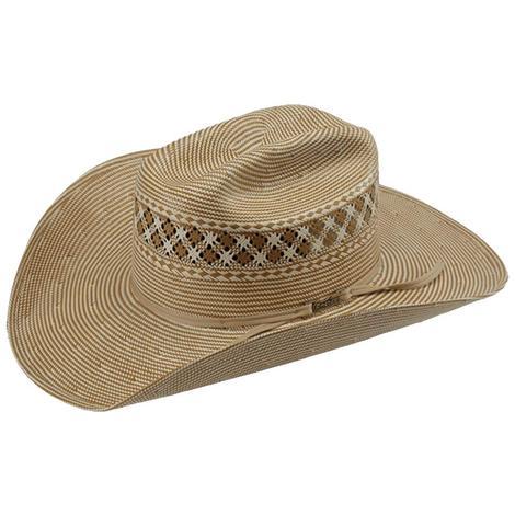 American Hat Company CB Crown 4 1/4 Straw Cowboy Hat