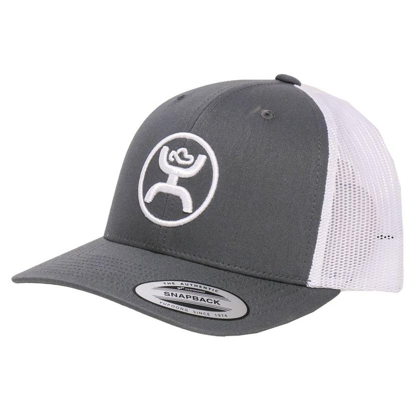Hooey Cody Ohl Grey & White Cap