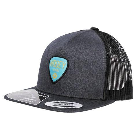 Hooey Grey & Black Logo Mesh Cap