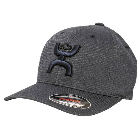 Hooey Navy Logo Flex Fit Cap