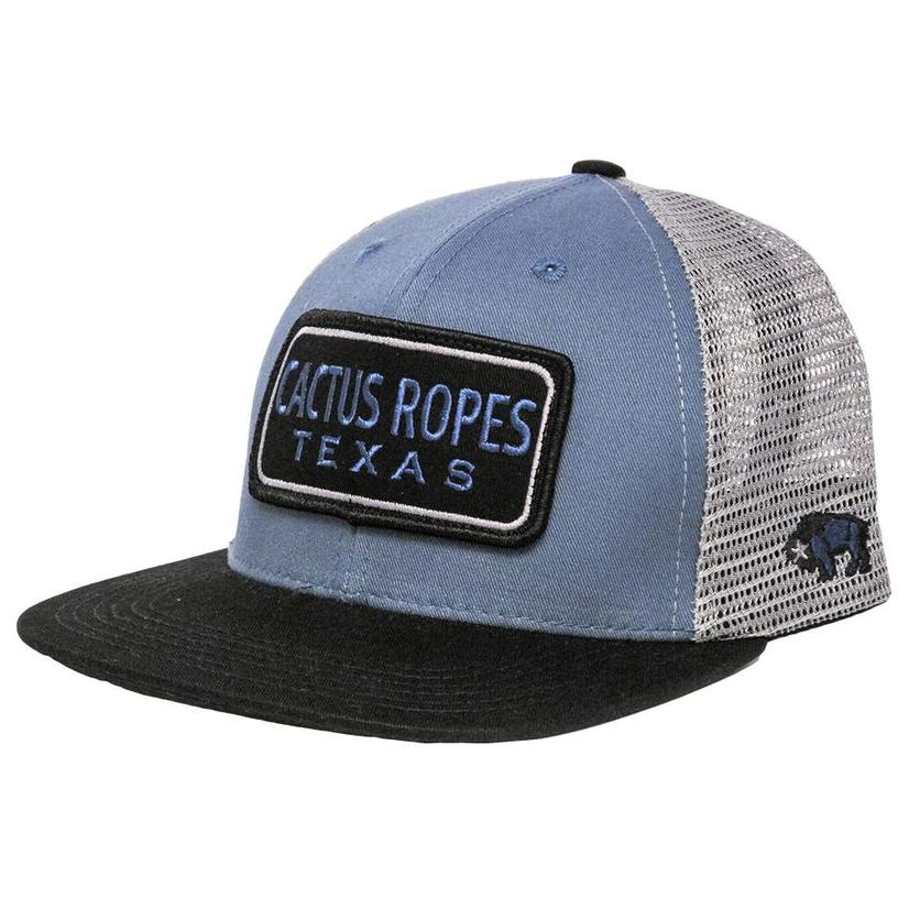 Hooey Cactus Ropes Blue & Grey Cap