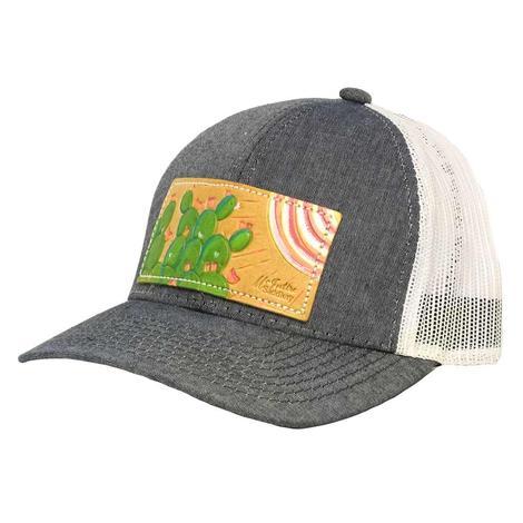 STT Spring Cactus Denim Mesh Back Cap